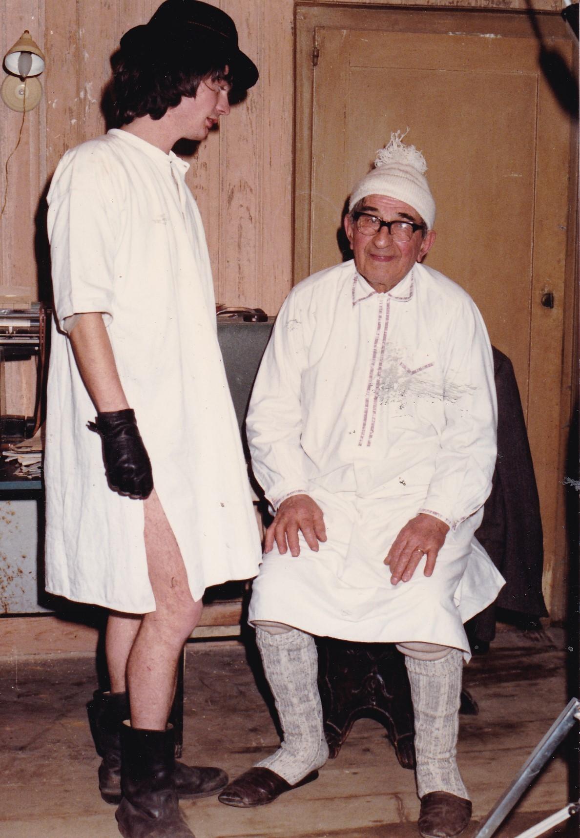 Nonno e Renatino